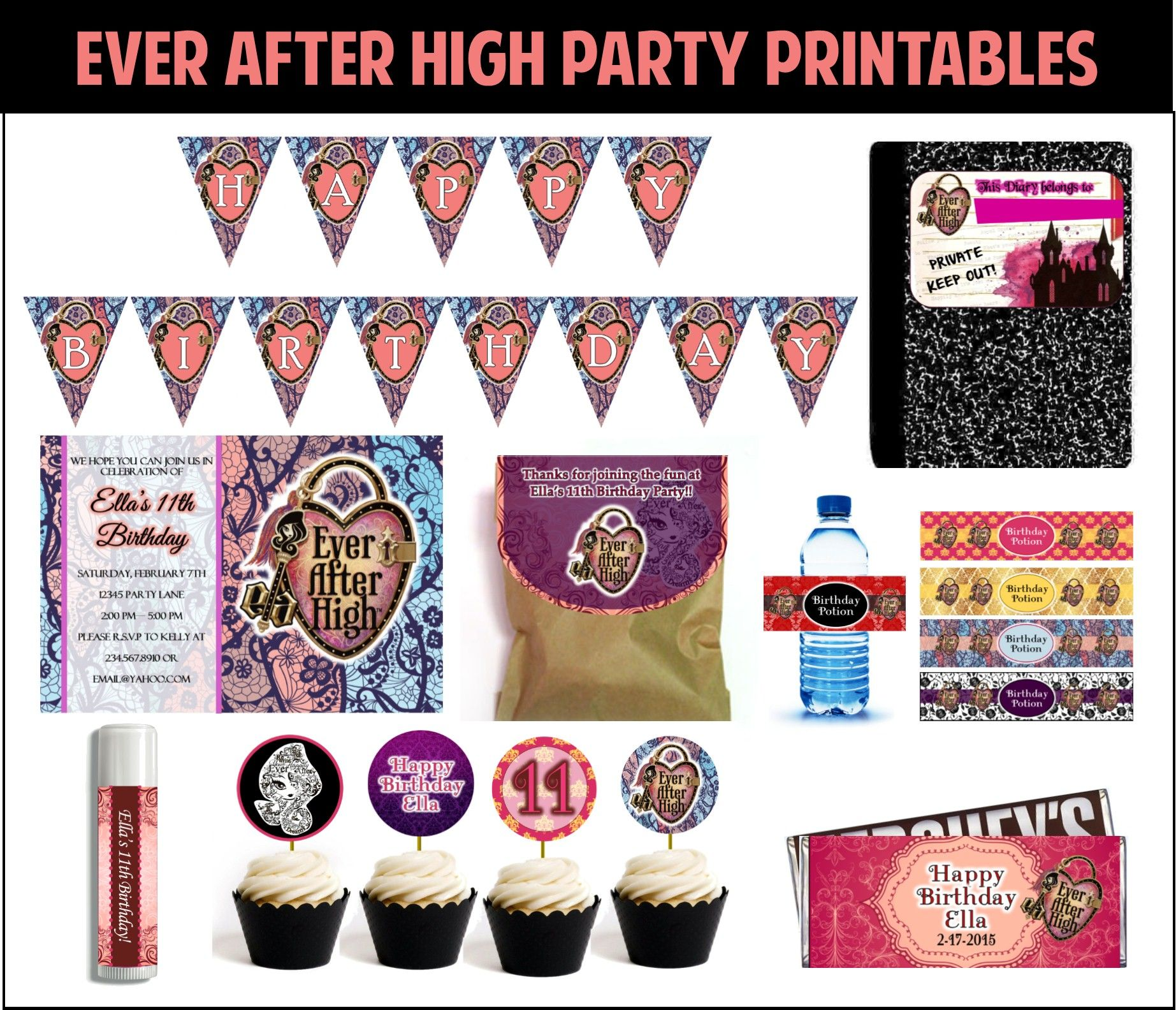 Ever After High party games and ideas to make your theme party