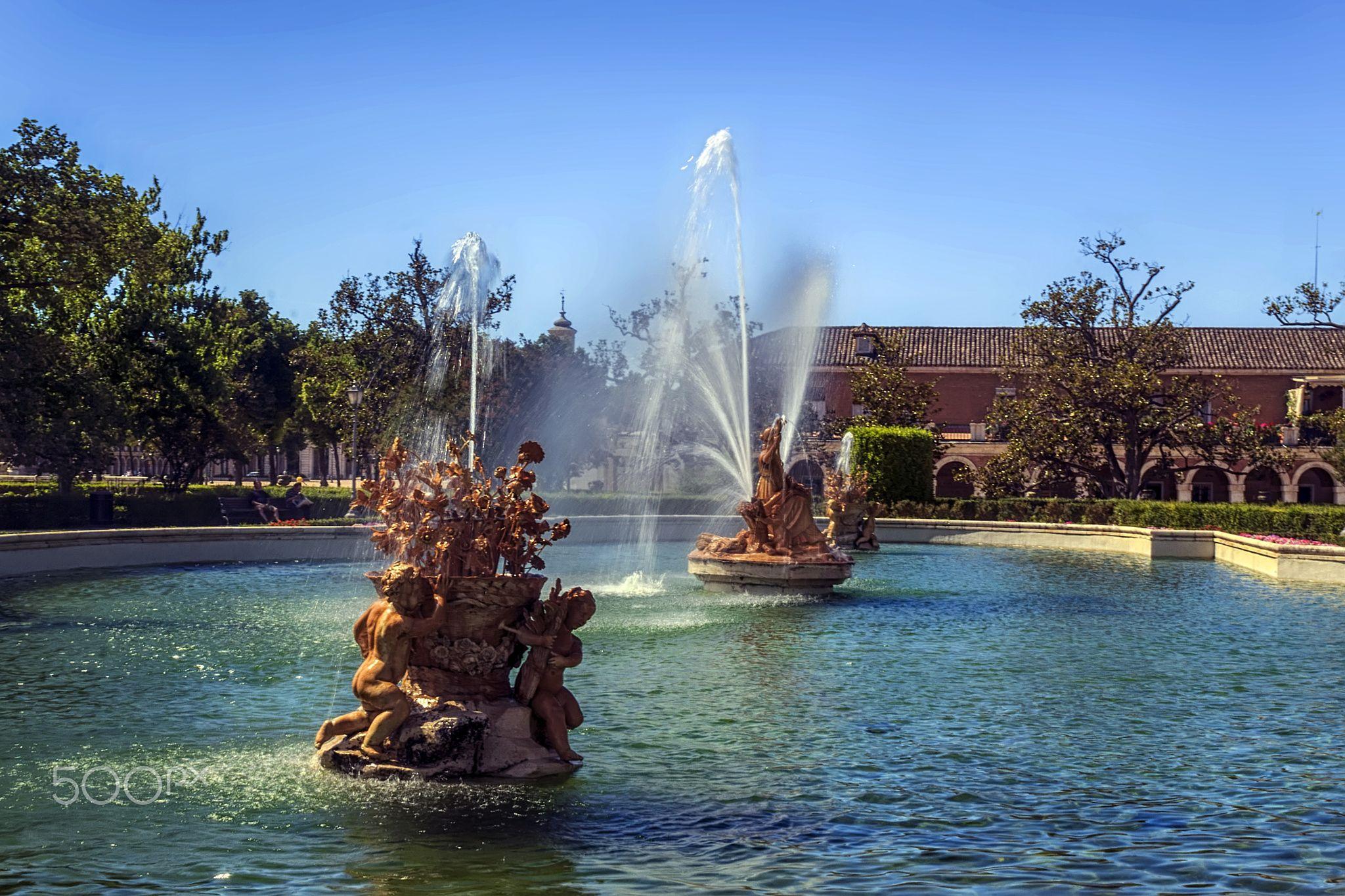 jardines de Palacio Aranjuez - Aranjuez un oasis en La Mancha