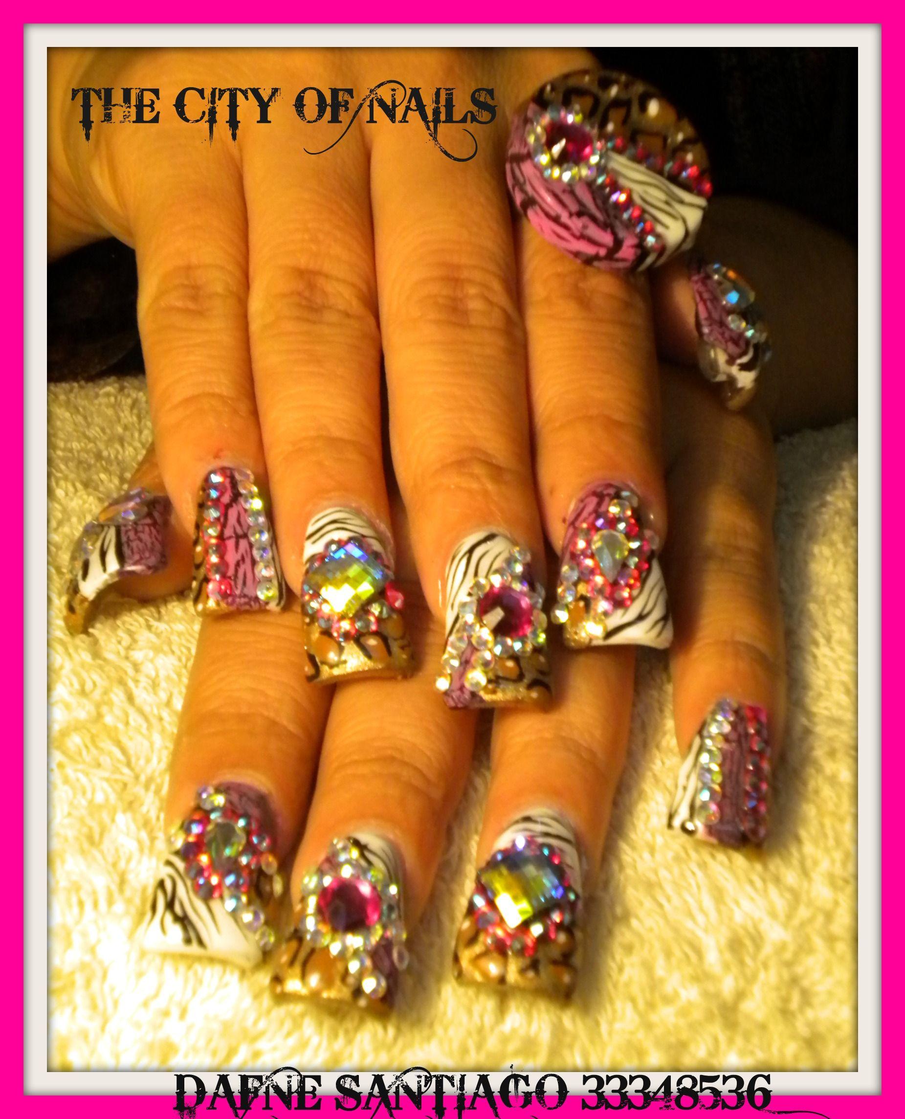 Sinaloa Nails Pictures   Flores Estilo Sinaloa Kaesca Nails Pic #19 ...