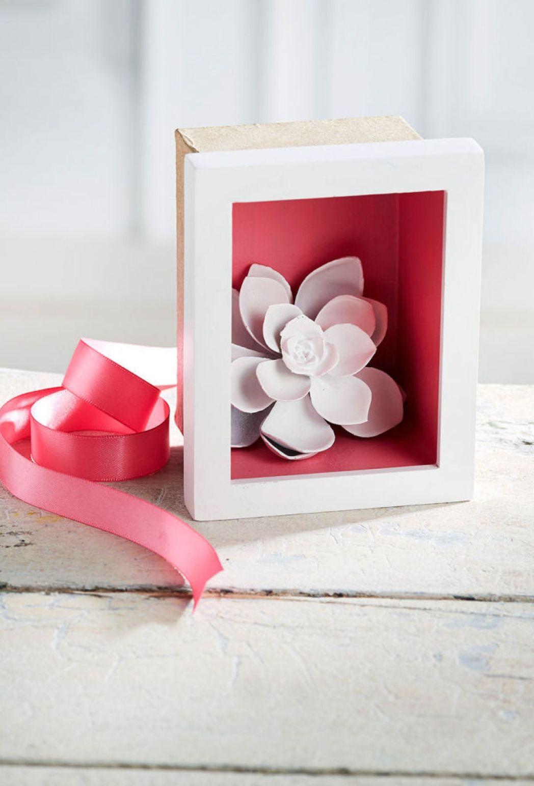 Transform a mini frame into an easy DIY Mini Frame Shadow Box using ...