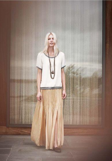 Chic look #skirt