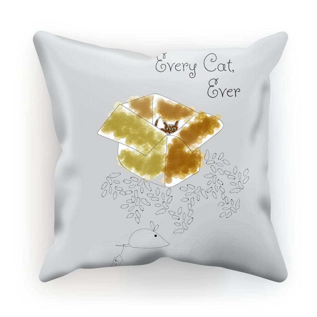 Every Cat Ever Throw Pillow
