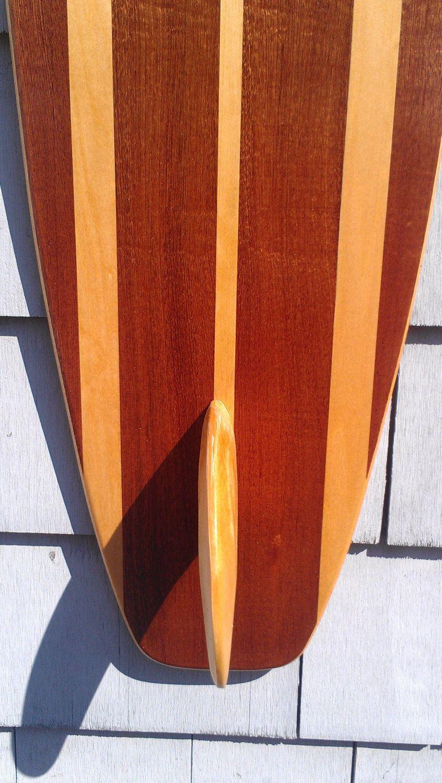 Surfboard Wall Hanging Art Vintage Surfing Decor Old School