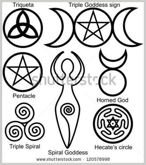 Wiccan Symbols Drawings Google Search Madies Room Ideas