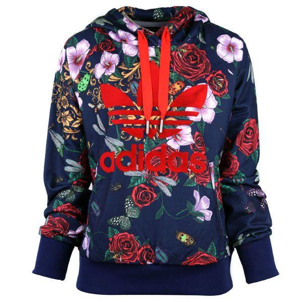 ADIDAS S11815 Women Hoodie PANTALONE ROSE RITA ORA Hooded Sweatshirt Shirts  #adidas #Hoodie #