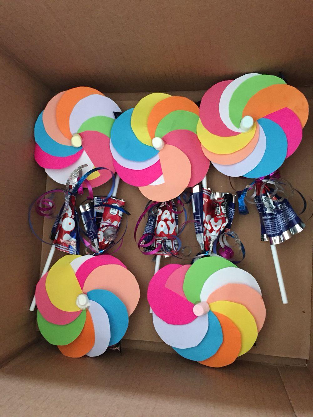 Paletas payaso regalitos para los niños | Manualidades | Pinterest ...