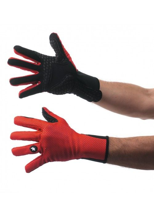 ASSOS EARLY WINTER GLOVES 851 RED