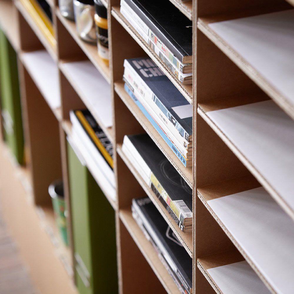 Librero U Organizador Para La Oficina O Casa Muebles De Cart N  # Muebles De Oficina Wagner