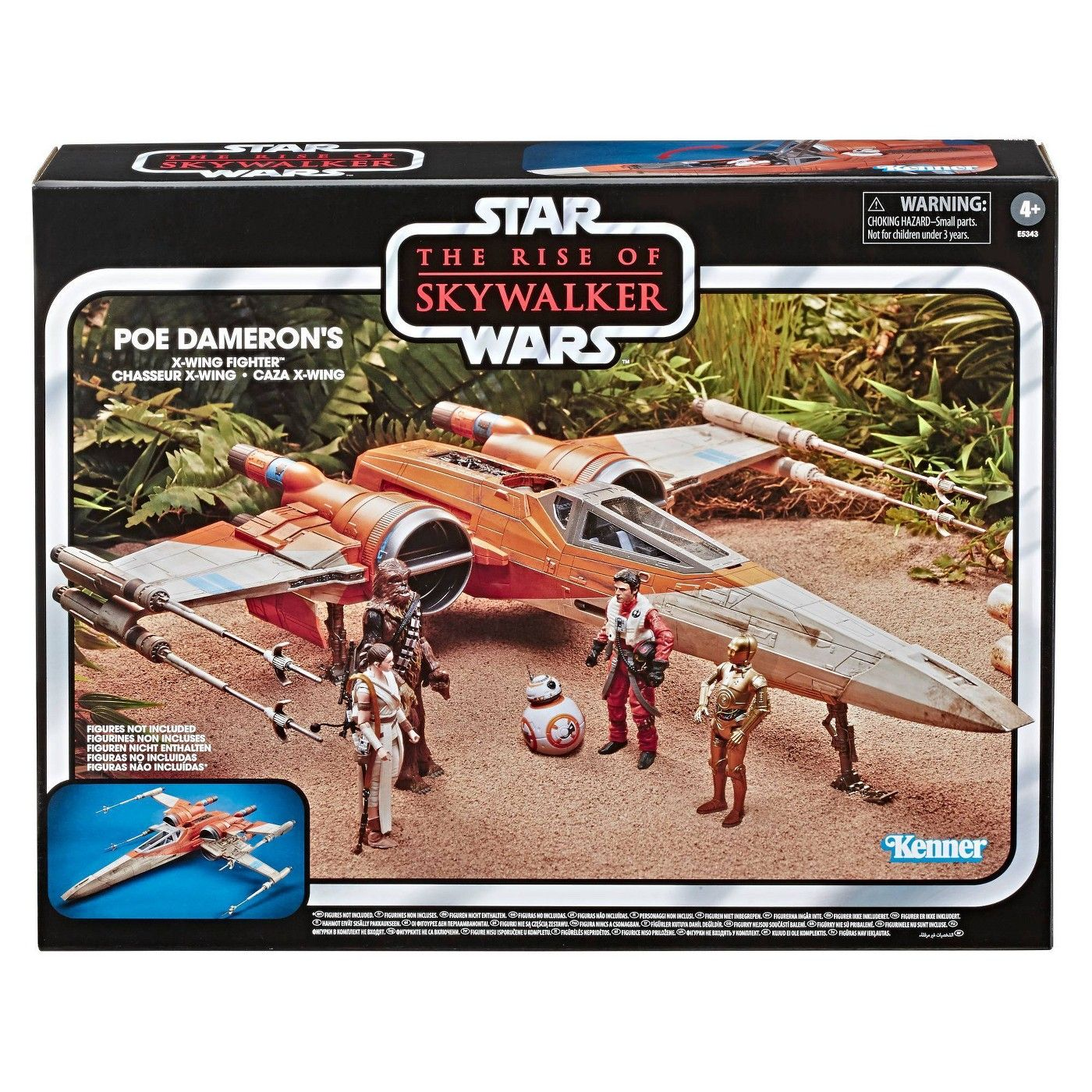 Star Wars The Vintage Collection Poe Dameron S X Wing Fighter Toy Vehicle In 2020 X Wing X Wing Fighter Star Wars Gifts