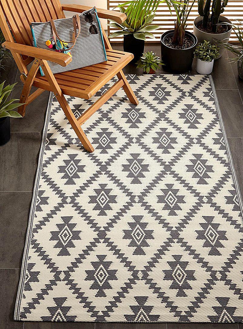 Folk diamond outdoor rug 120 x 180 cm #outdoorrugs