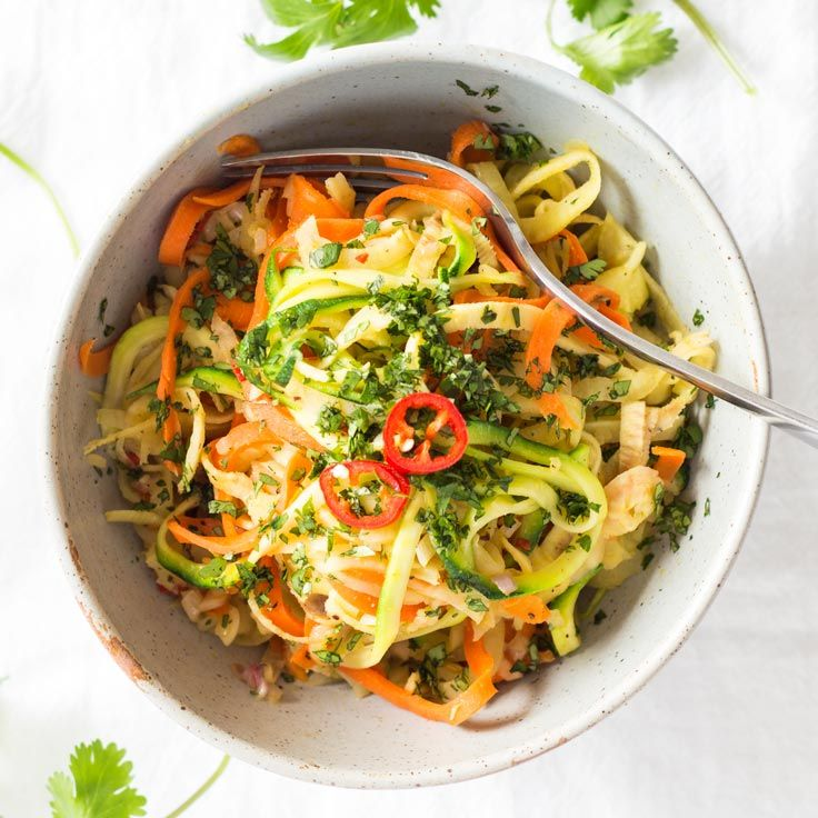 Vegetable Noodle Stir-Fry – These delicious vegan noodles are easy and quick to cook, and work brilliantly as both a side dish and the main meal.