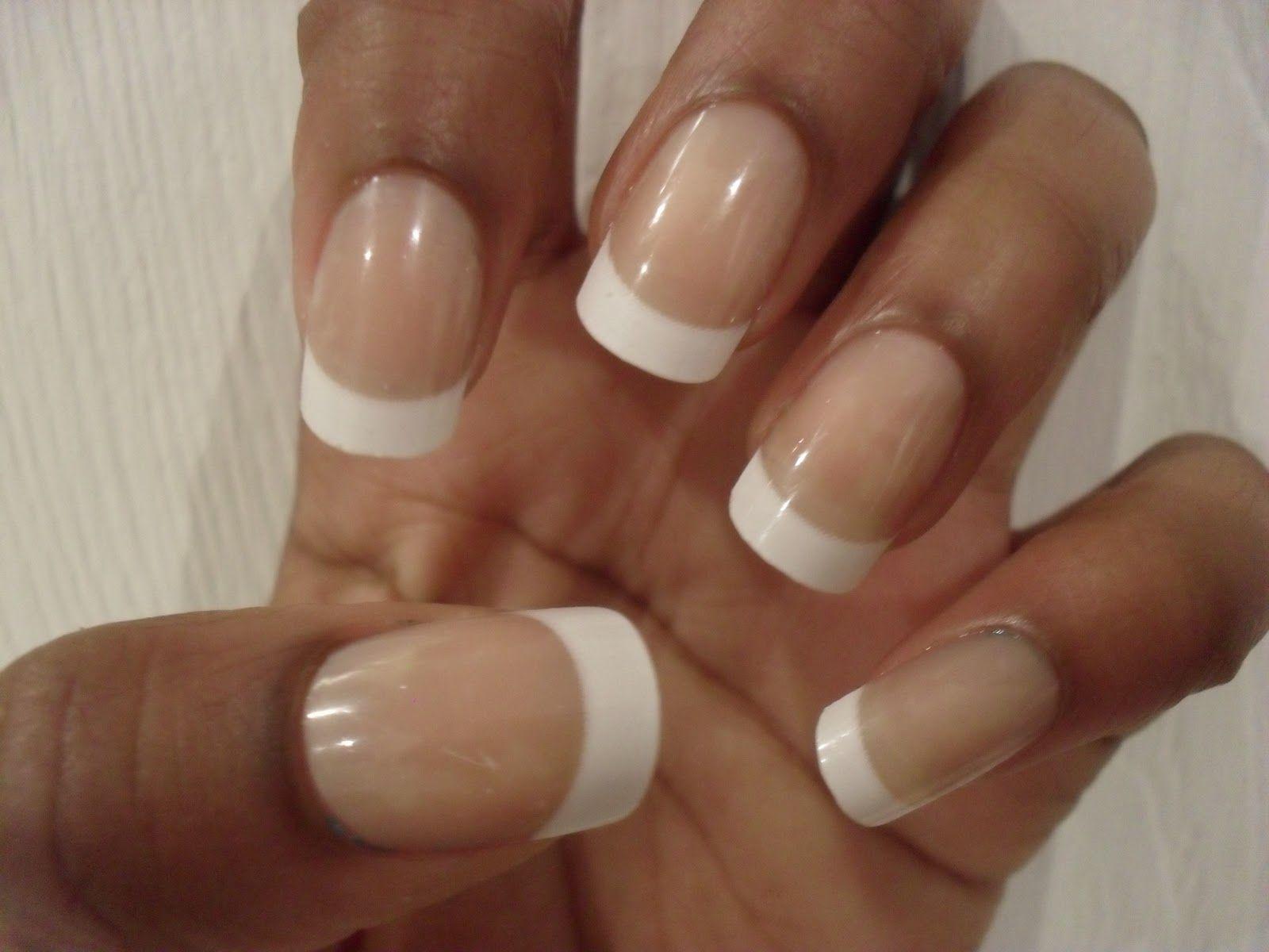 french nails long nail bed - Google Search   nails   Pinterest ...