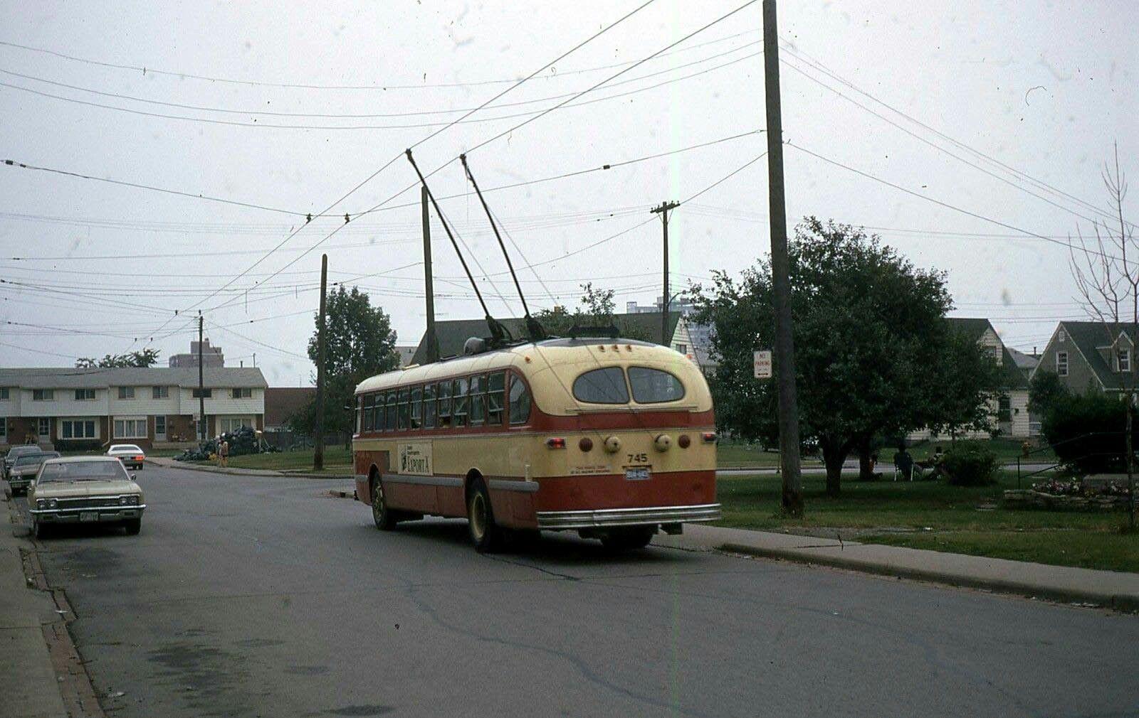 HSR Hamilton CCF Brill trolley coach | Coach, Bus
