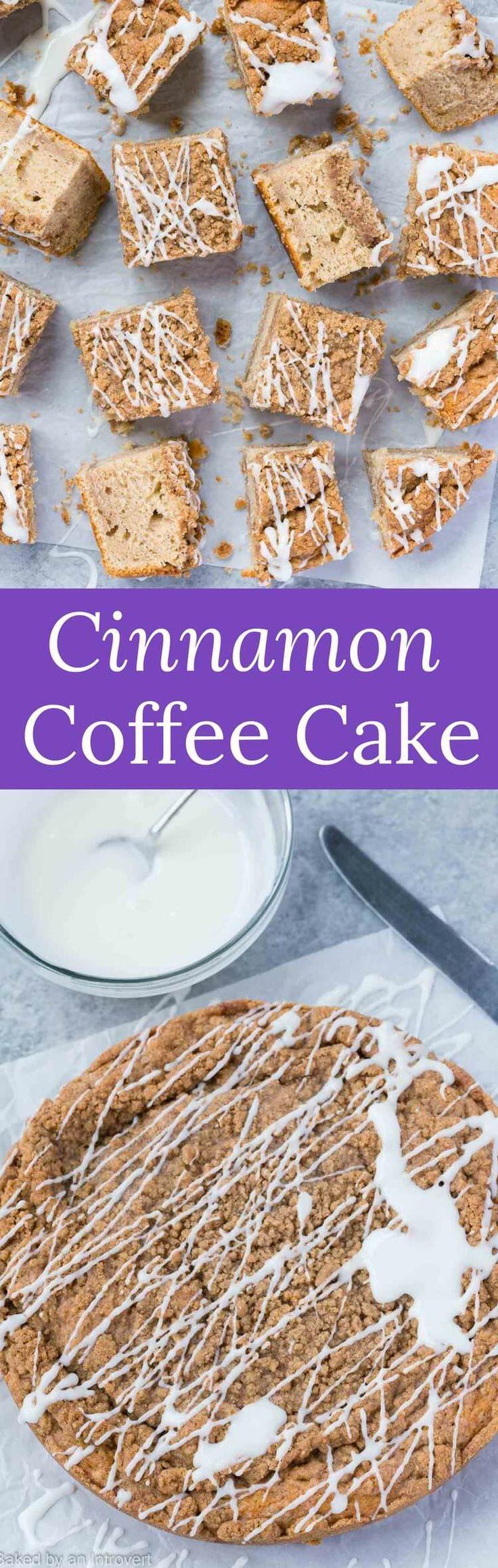 Cinnamon sour cream coffee cake recipe coffee cake