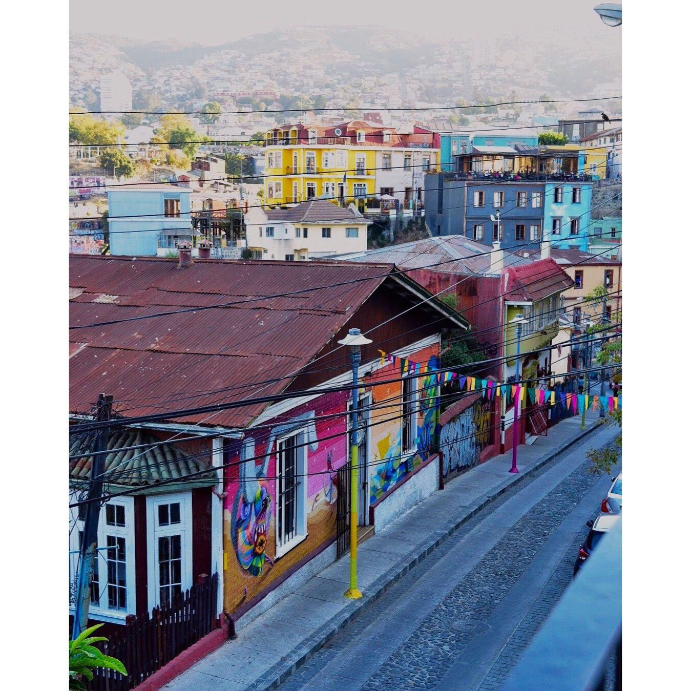 Valparaiso #Chile #Cerroalegre #Color