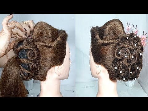 New Twisted Juda Hairstyle For Wedding Or Party Easy Hairstyles New Hairstyles Hairstyles Yo Simple Wedding Hairstyles Easy Hairstyles Bridal Hair Updo