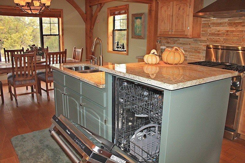 Raised Dishwasher Kitchen Redesign Home Kitchens Kitchen Remodel