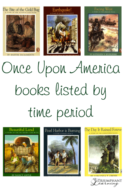 Photo of Once Upon America Books Listed By Time Period | Triumphant Learning