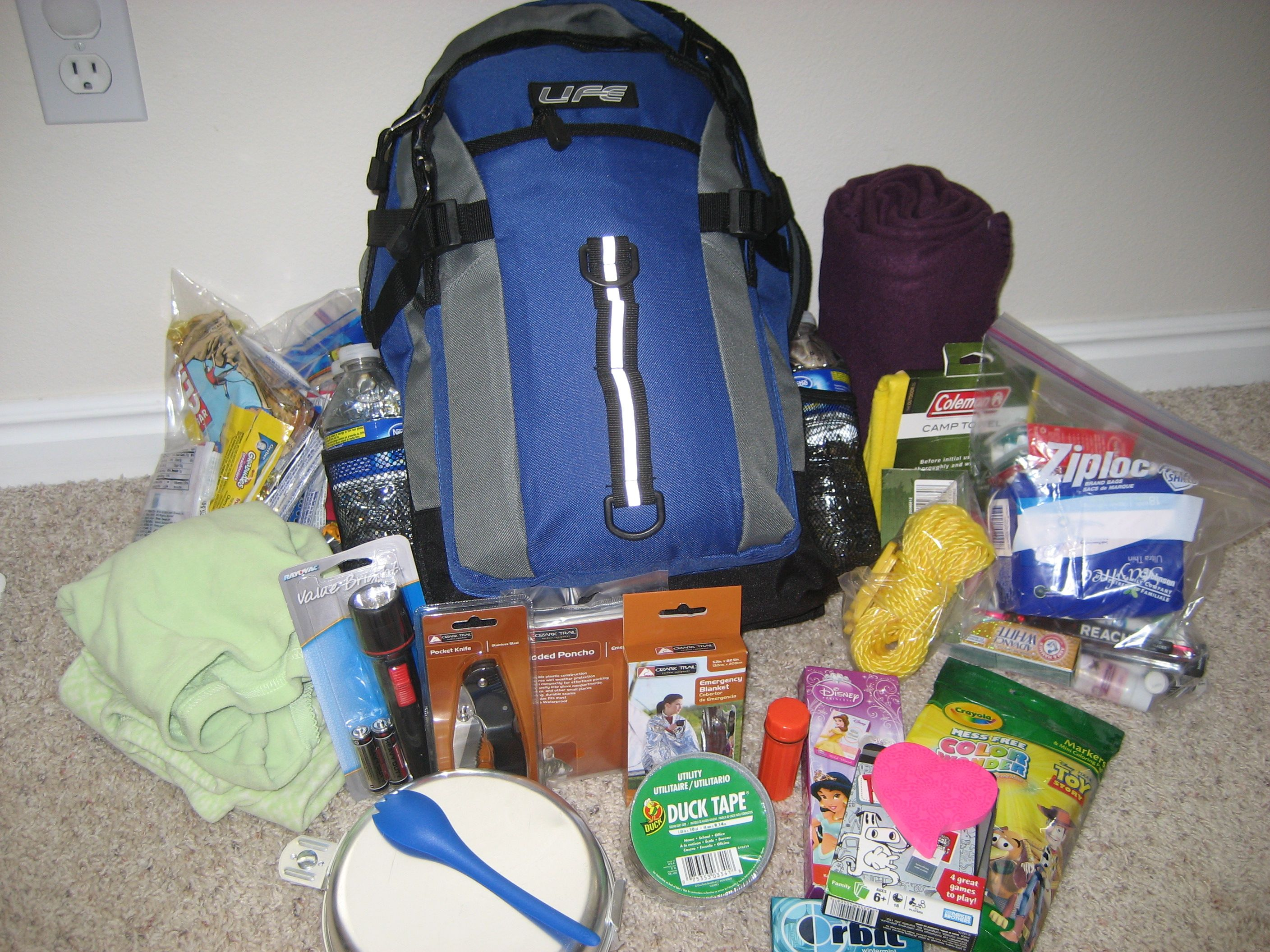 72 Hour Emergency Go Bags Get Started And Be Prepared