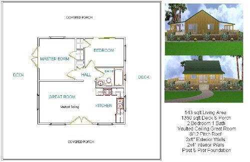 Robot Check Cottage Plan Cabin Floor Plans Beautiful House Plans