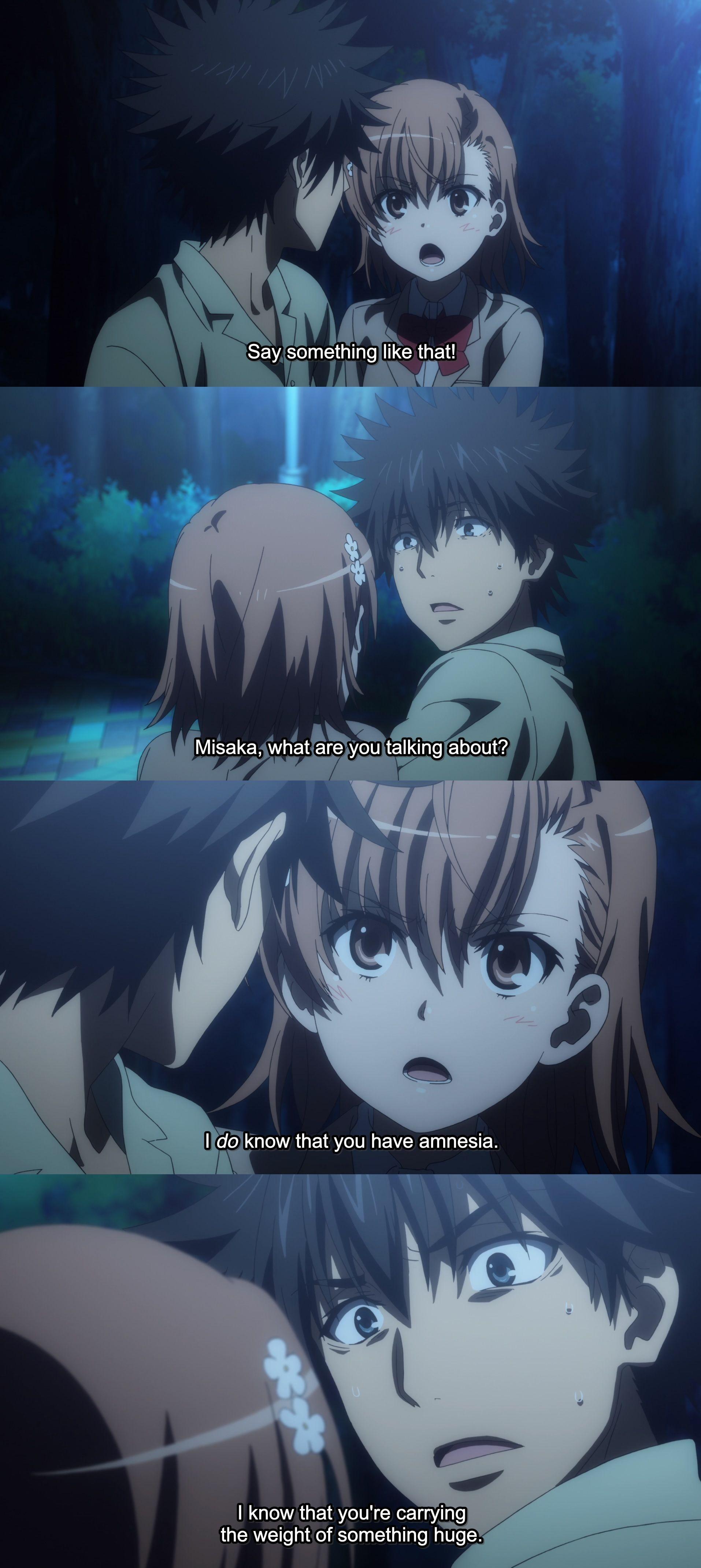 Mikoto Touma Index S3 Ep9 Anime Anime Fandom A Certain Scientific Railgun