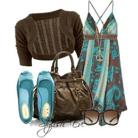 Turquoise a s brown
