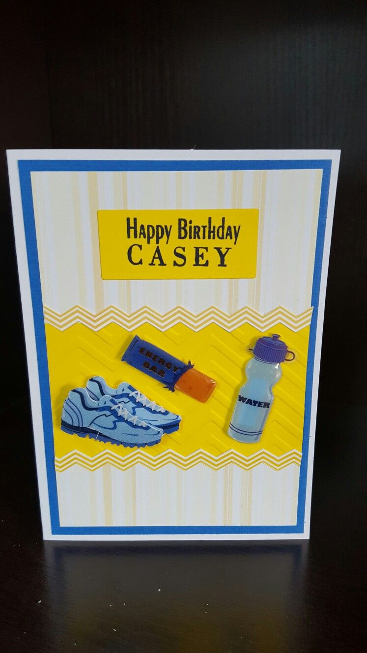 Runners Birthday Cards
