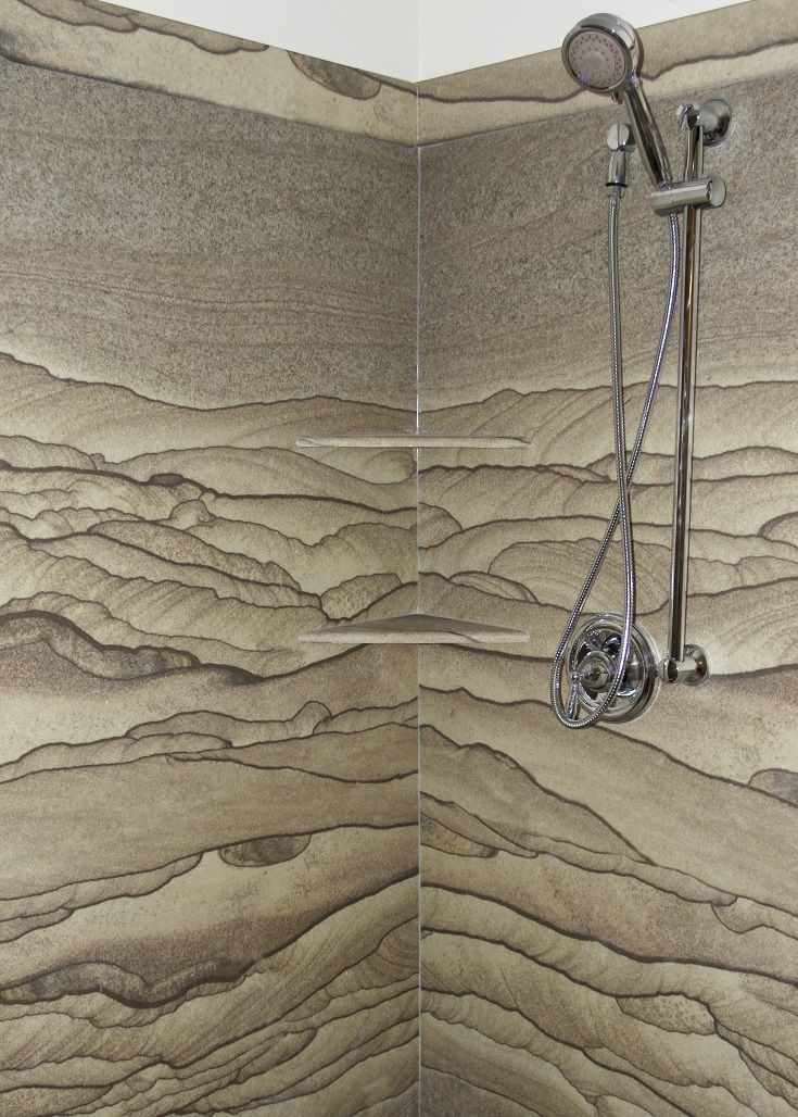 Tyvarian Moab Shower Great Earth Tones Reminds Me Of