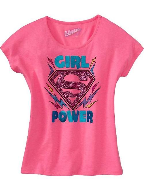 4e24aceb7 New Girls' Superhero Shirts Available at Old Navy in 2019 | Projects ...