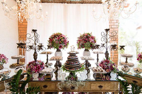 Cerimônia de casamento em Brasília - Inspire-se no convite e decoração vintage campestre do casal Denisi e Daniel!