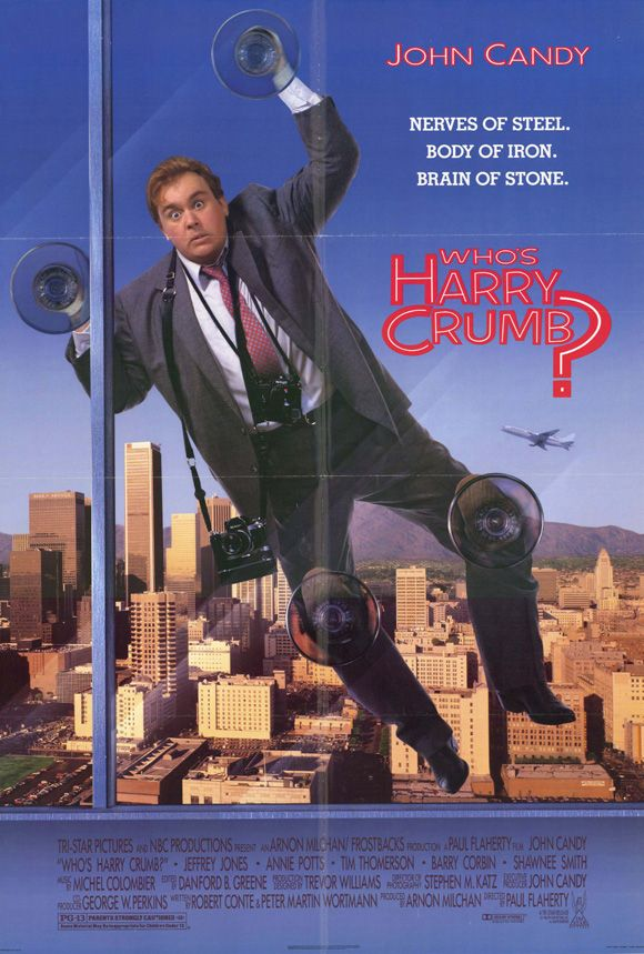 Who S Harry Crumb 1989 Stars John Candy Jeffrey Jones Annie