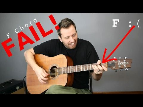Guitar Cheats 5 Easy Ways To Play An F Chord Youtube