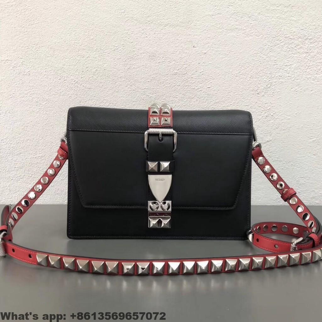 e39ace7c3e58 Prada Elektra Calf Leather bag 1BD120 2018