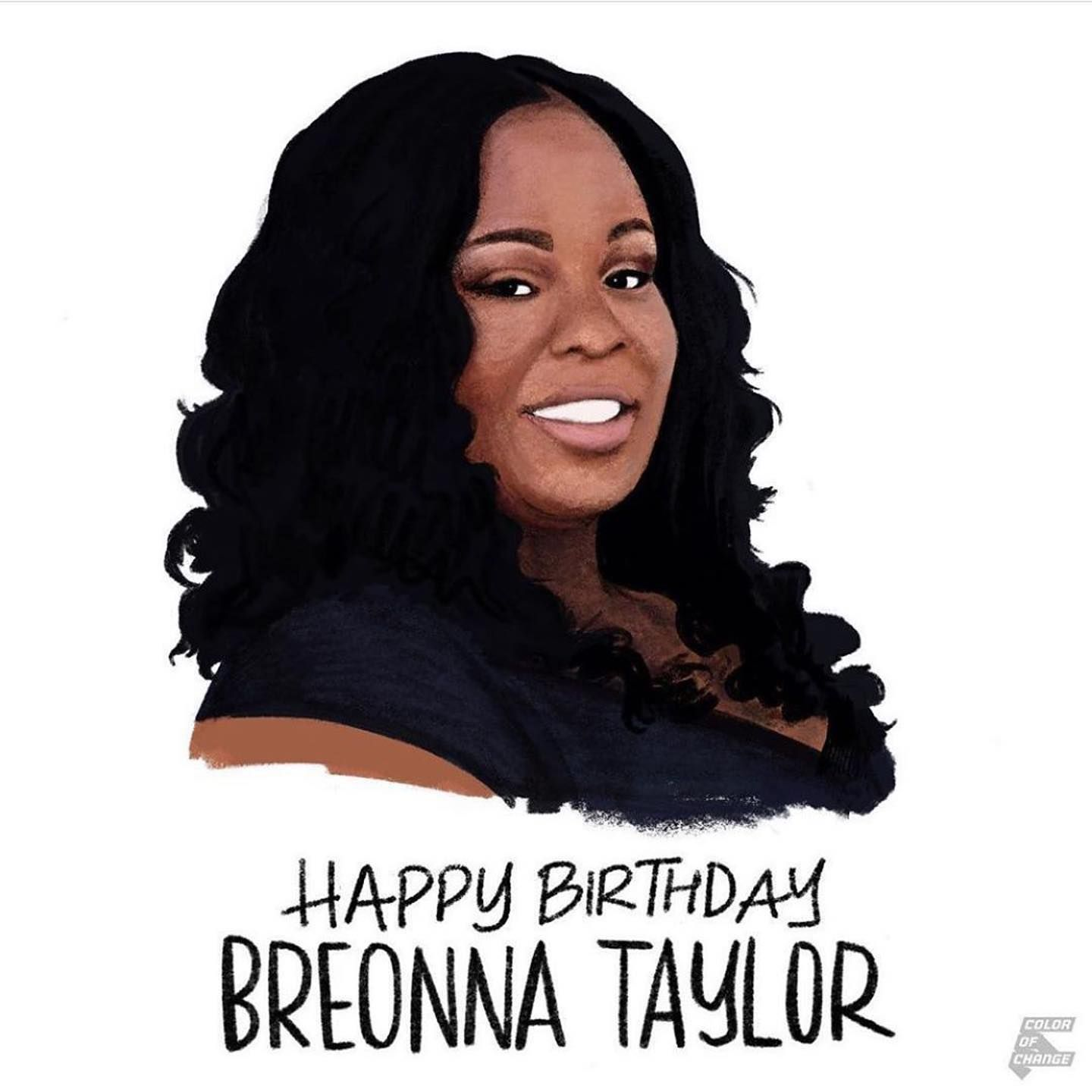 Happy Birthday Breonna Taylor Sayhername You Would Have Been 27 Today Breonna Was Killed In Her Home In 2020 Breonna Taylor Black Lives Matter Black Lives