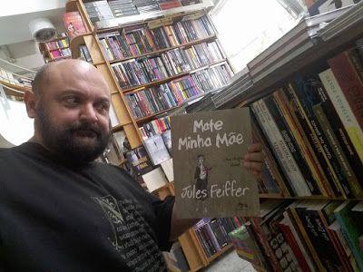 Calazans zans zans: Julles Feiffer -Flávio Calazans - um dos meus autores preferidos