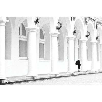 """East Urban Home Claire Photographic Print on Wrapped Canvas Size: 12"""" H x 18"""" W x 0.75"""" D"""