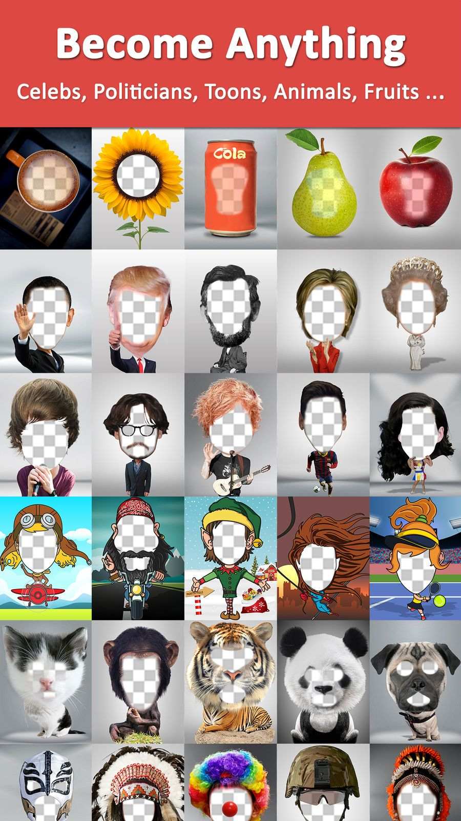 Acvifo hole to put face in change voice ios games