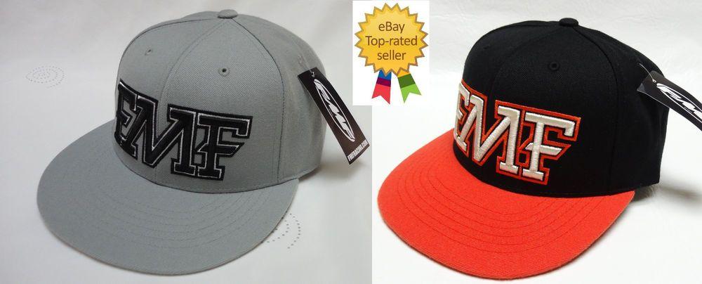 829ba0220a9 FMF mens MX Racing MX F22196103 NEW JACK Snapback Baseball cap hat one size  NEW