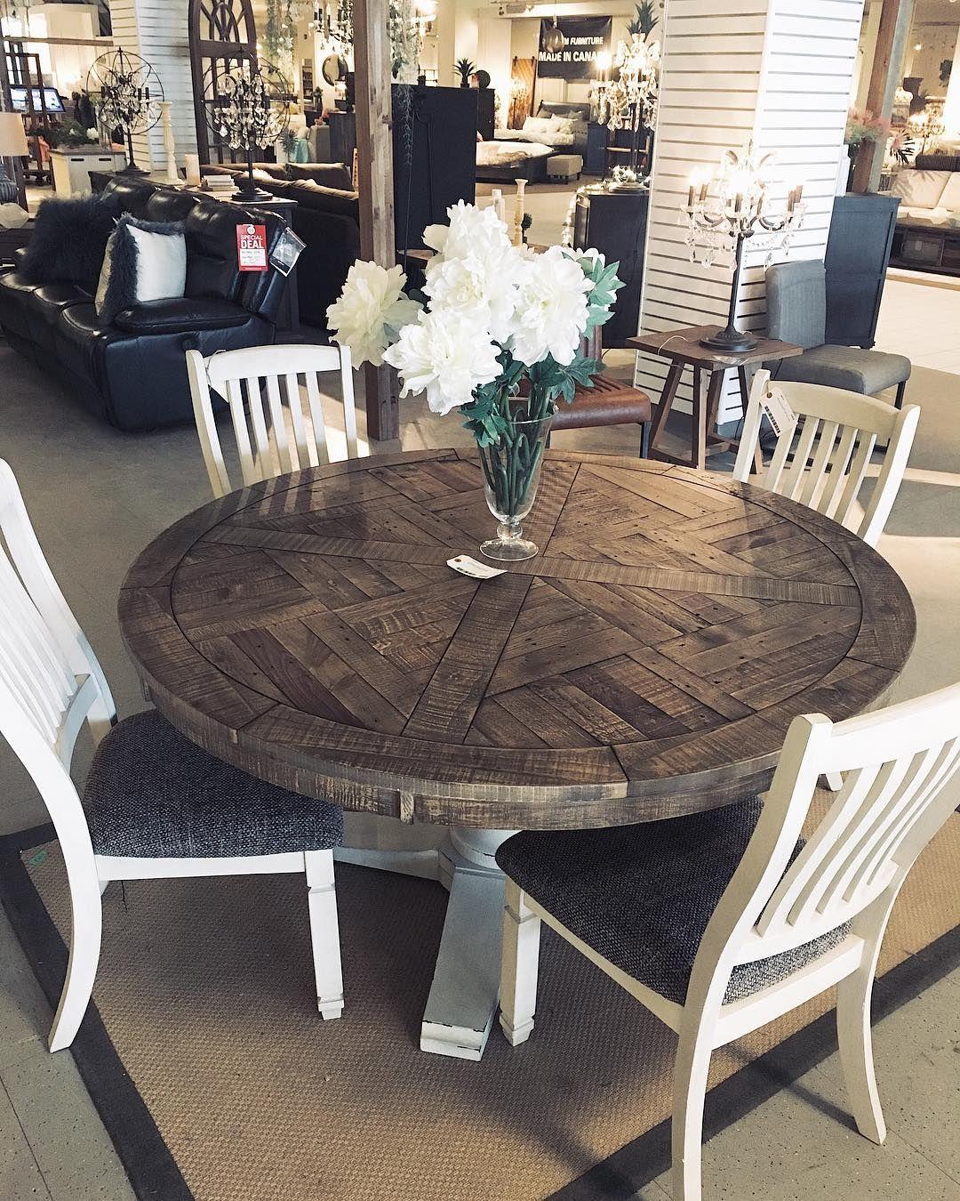 Grindleburg Dining Room Table Wood Dining Table Elegant