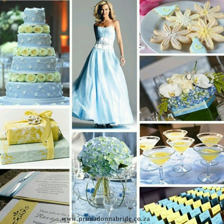 Blue And Yellow Wedding Themes Wedding Bliss Yellow