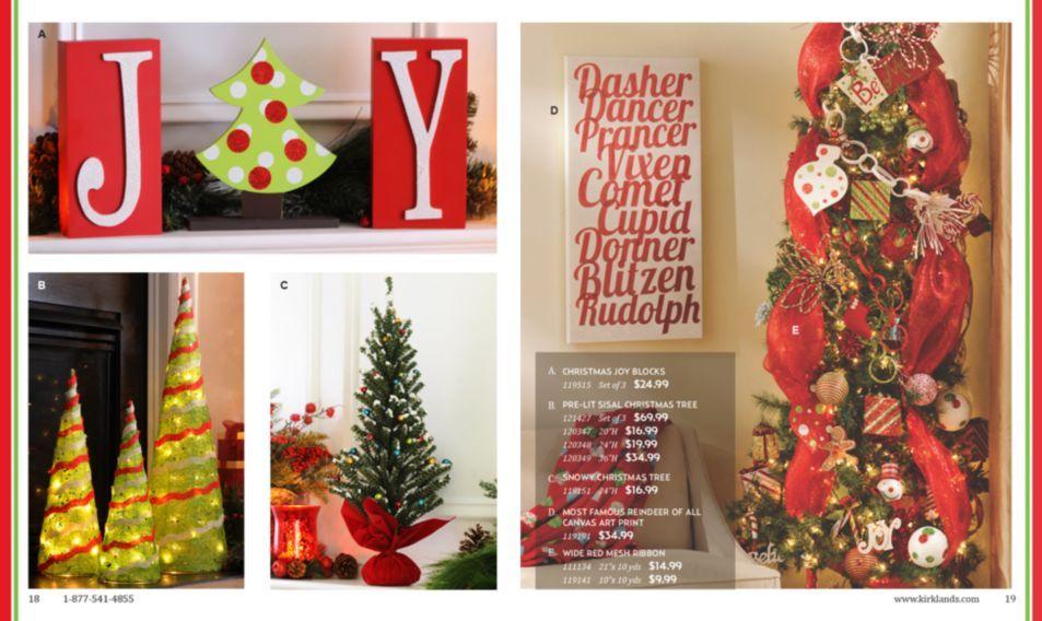 kirkland christmas decor - Maribo.intelligentsolutions.co