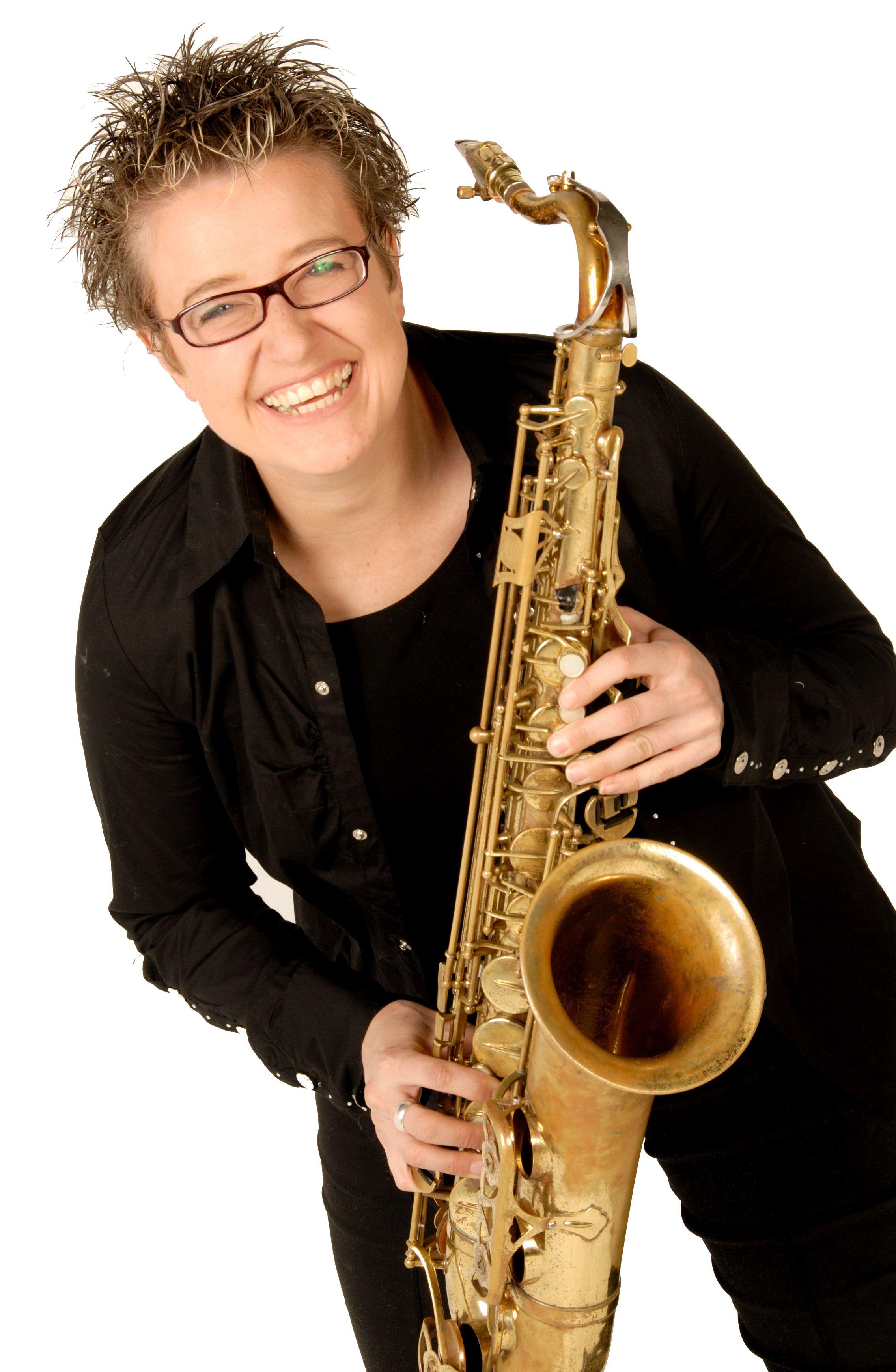 Abbey Artico Saxophonist Sax Player Saxophone