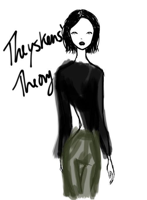 Theyskens' Theory New York Womenswear S/S 2013 by Rei Nadal.