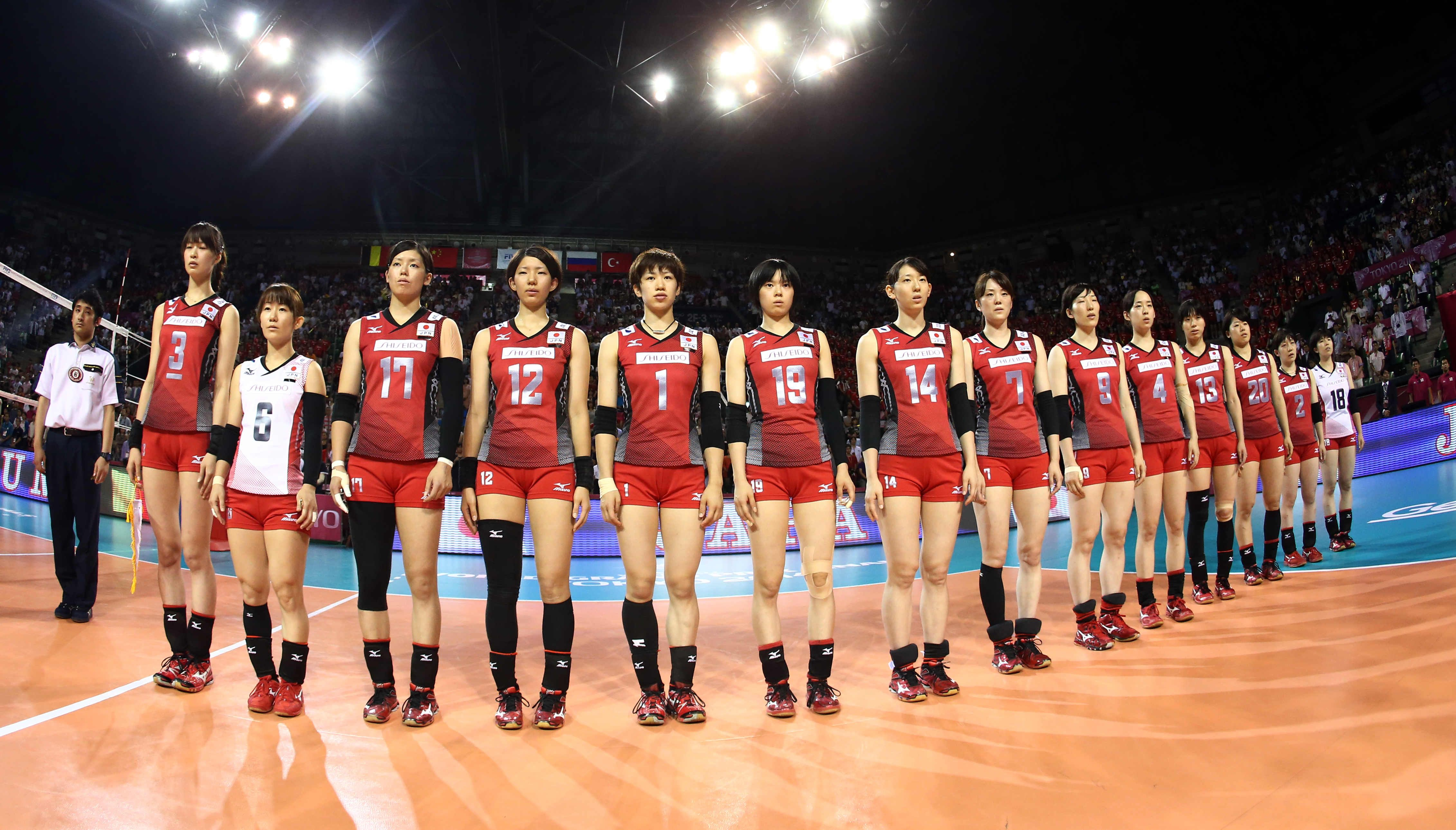 Saori Kimura Miyu Nagaoka Yuko Sano Risa Shinnabe Haruka Miyashita Japan Volleyball Japan Volleyball Team Volleyball Team Volleyball