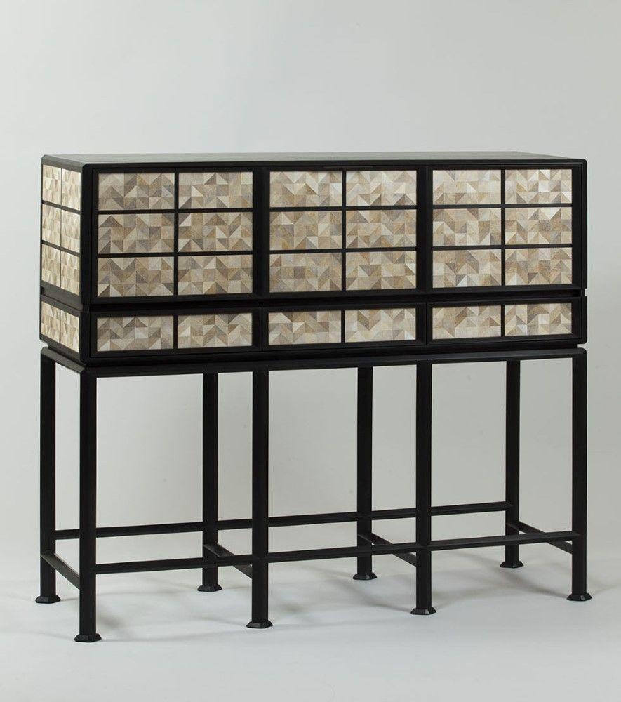 Mobilier nicolas aubagnac chinese rocks i mobilier marqueterie et mobilier de salon for Mobilier contemporain luxe