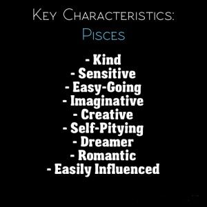 Pisces Characteristics With Images Pisces Quotes Pisces Personality Horoscope Pisces