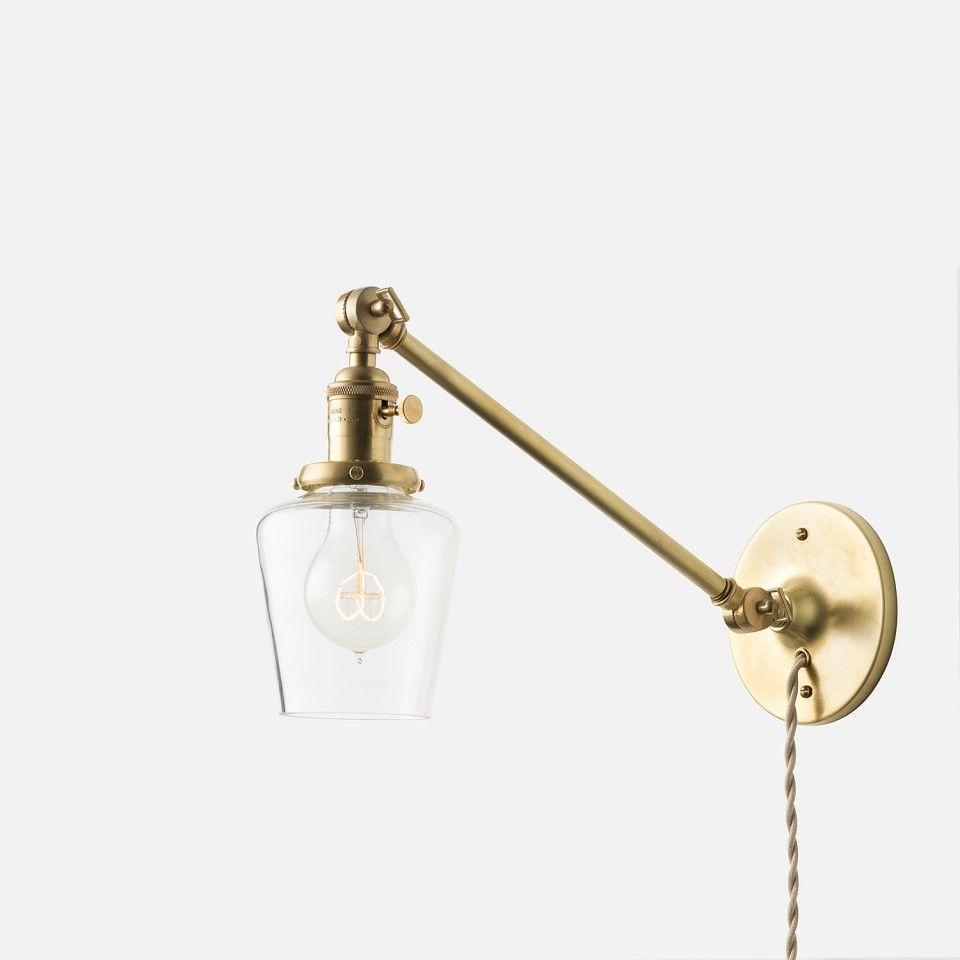 "Princeton Junior Plug-In Sconce 2.25"" | Plug-In Fixtures | Lighting"