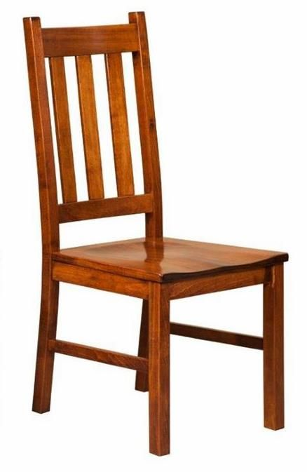 Amish Denver Mission Dining Chair Dining Chairs Rustic Furniture