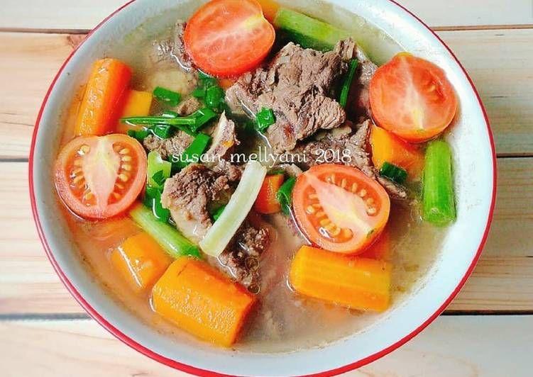 Resep Sop Tulang Sapi Oleh Susan Mellyani Resep Makanan Resep Masakan Resep