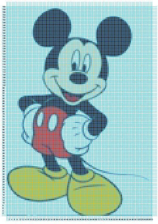 Patrones de Disney en punto de cruz :: Esquemas de punto de cruz ...
